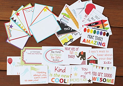 Designer Lunchbox Notes - 2 Packs of 27 Cards - Multi by Sprinkled Joy (Image #1)