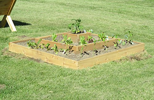 Multi-level Raised Bed Garden Kit By Infinite Cedar