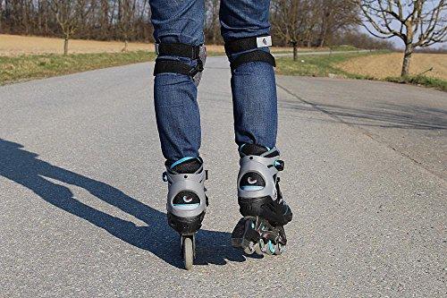 Quality Prints - Laminated 36x24 Vibrant Durable Photo Poster - Inline Skates Rollerskates Recreational Sports Sport ()