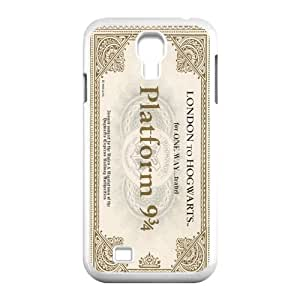 Wishing CTSLR Hogwarts Train Ticket Harry Potter Protective Hard Case Cover Skin for Samsung Galaxy S4 I9500-1 Pack- 1