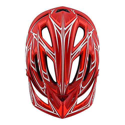 Troy Lee Designs A2 Pinstripe 2 Mountain Bike Adult Helmet 2018 with MIPS Protection and X-Static Liner meets/exceeds CPSC CE-EN AS/NZS X-Large/2X-Large Red by Troy Lee Designs (Image #3)