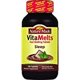 2 Pack - Nature Made Vitamelts Sleep Tablets, Chocolate Mint, 100 Count by Nature Made