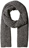 Lacoste Women's Rib Knit Scarf, eclipse blue chine moline, One Size