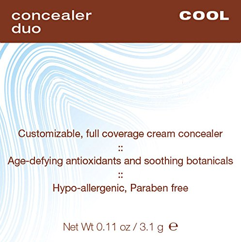 Mineral Fusion Compact Concealer Duo, Cool Shade, 11 Ounce