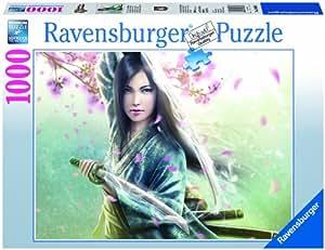 Ravensburger - Mujer Samurai, puzzle de 1000 piezas (19036 2)