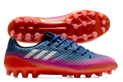 adidas Messi 16.1 Ag, pour les Chaussures de Formation de Football Homme, Bleu (Blu Azul/Ftwbla/Narsol), 44 EU