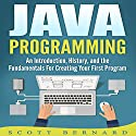Java Programming: An Introduction, History, and the Fundamentals for Creating Your First Program Audiobook by Scott Bernard Narrated by Sean Posvistak