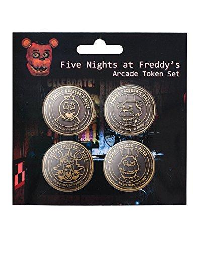 Five Nights at Freddy's Arcade Token Set -