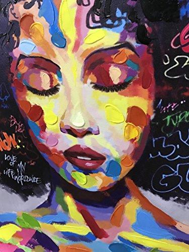 Pinetree Art African American Black Art Canvas Wall Art
