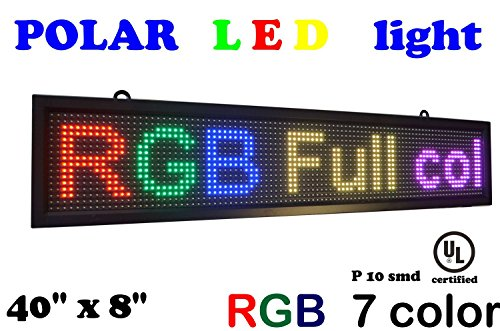 LED color P10 technology advertising product image