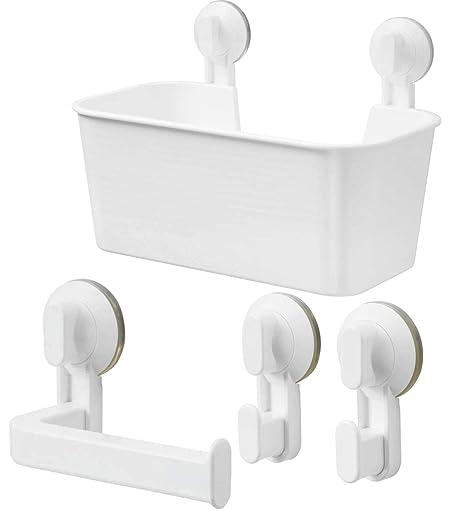 Accessori Bagno A Ventosa Ikea.I K E A Ikea Stugvik Set Di Supporto Per Carta Igienica
