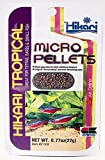 Hikari Tropical Micro Pellets Tetra,Barbs and Small-Mouthed Fish Food, 22g