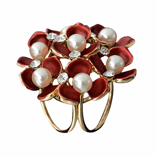 DDLBiz Tricyclic Flowers Buckle Jewelry