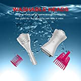 Hair Trimmer & Shaver for Facial Hair, Bikini Line, Eyebrow and Underarm MASWATER Hair Removal Washable Trimmer Head -Bikini Trimmer for Women