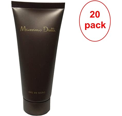 MASSIMO DUTTI Gel de Ducha 75ml. Pack de 20: Amazon.es: Belleza