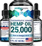 Best Hemp Oils - Hemp Oil for Anxiety Relief - 25000MG Review