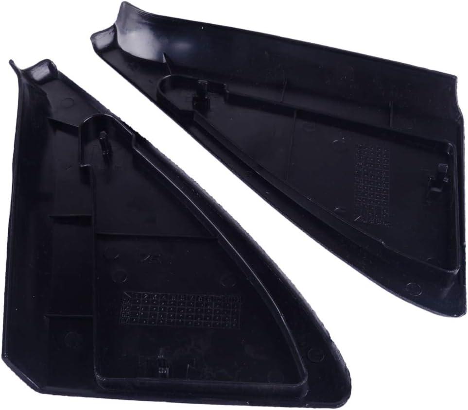 Stop-beler Paire de triangles de montage de panneau de garniture de couverture de miroir porte avec clips # 191837993 191837994