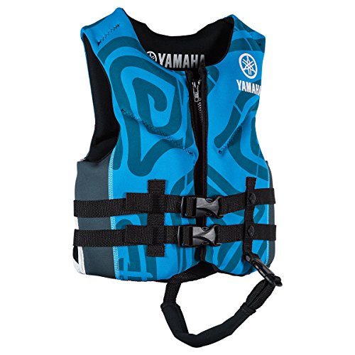 Yamaha Children's Neoprene Life Vest Jacket PFD (Blue, for sale  Delivered anywhere in USA
