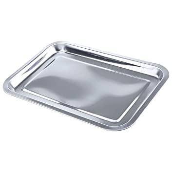 Sharplace 1 Unid Bandeja Rectangular Acero Inoxidable ...