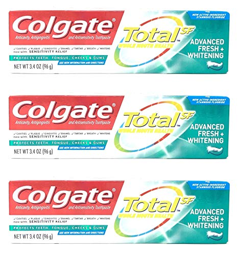 ing Toothpaste, Advanced Fresh + Whitening Gel, 3.4 oz (Pack of 3) ()