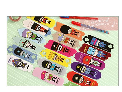 Vintage DIY Multifunction Soldier Cute Paper Bookmark Book Markers /Office of School/ 108sheets /Lot by Office & School Supplies YingYing (Image #2)