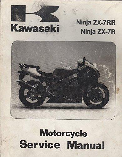 85ba97e309a9b 1996-2002 KAWASAKI MOTORCYCLE NINJA ZX-7RR P/N99924-1193-06 SERVICE MANUAL  (045)
