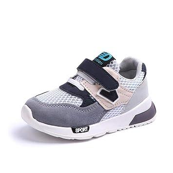 Sneakers Enfant Baskets Montantes Garcon,Xinantime Bébé Garçons Filles  Enfants Casual Sneakers Maille Doux Courir 00db0aac8156