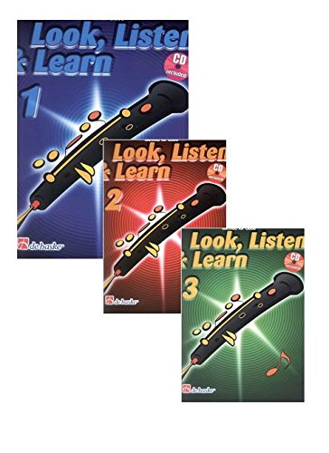 BOERSTOEL y KASTELEIN - Look Listen and Learn (Metodo) Vol.2 para Oboe (Inc.CD)
