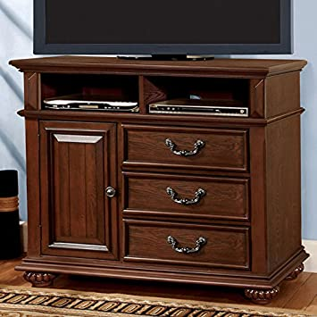 24 7 Shop at Home 247SHOPATHOME IDF-7811TV TV Stand, Oak