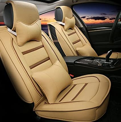 Wondrous 3D Frontline Pu Leather Car Seat Cover For Honda Amaze Ocoug Best Dining Table And Chair Ideas Images Ocougorg