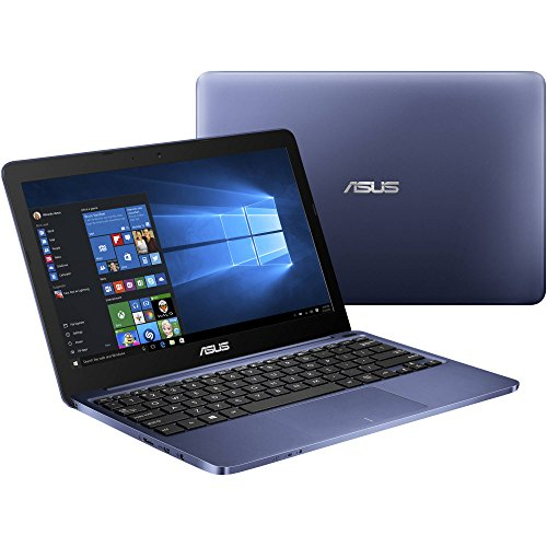 Asus Blue Premium 11.6-inch Laptop PC (2016 Model), HD LED Backlight Display, Intel Atom Z3735F 1.33GHz Processor, 2GB DDR3 Memory, 32GB Hard Drive, Wifi, Bluetooth, Windows 10 (Top 10 Games To Play On Roblox)