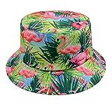 GP Accessories Trends Fashion Bucket Hat Large Flamingo Tropical Blue