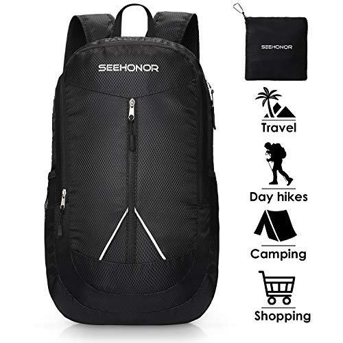 0ad8a2a6cc7f SEEHONOR 35L Packable Lightweight Backpack Hiking Daypack Foldable  Ultralight Backpack Durable Water Resistant Travel Backpack