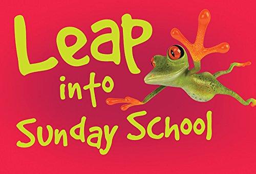 (Leap Into Sunday School Frog Postcard (Pkg of 25))
