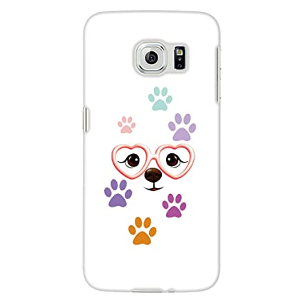 Amazon.com: jys365 Cute Cartoon perro paw print teléfono ...