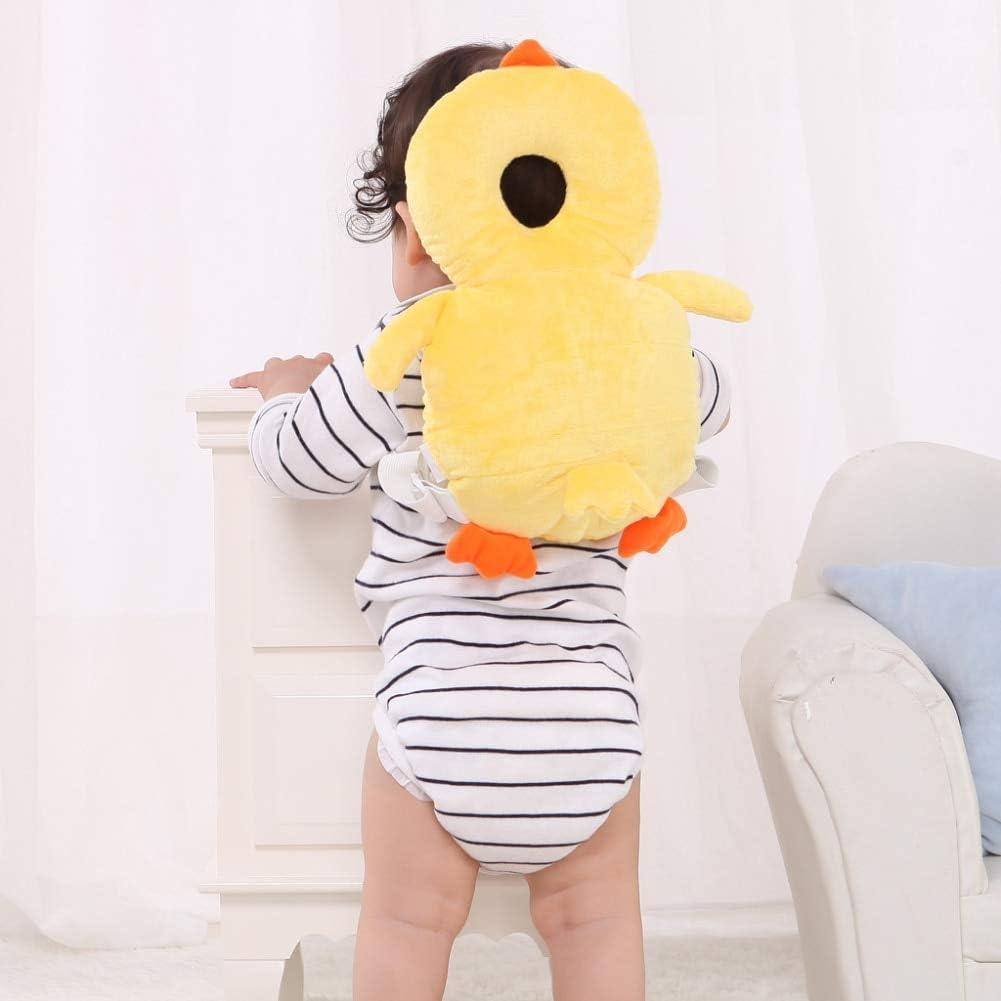 Encantador Casco de bebé, Protector de cabeza, Mochila, Cabeza anti plana, Forma, Cabeza de bebé Protección de almohada Pista de almohadilla Pista de reposacabezas Cuello de seguridad Cuello de seguri