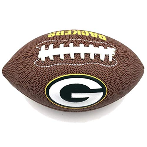 ing Official National Football League Fan Shop Authentic NFL AIR IT Out Youth Football. Great for Pick up Game with The Kids. (Green Bay Packers) ()