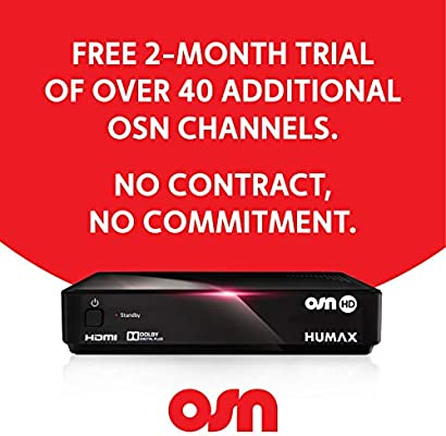 Humax Osn Pehla Package Hd Decoder/Receiver - Hd-1000S - (Pack Of