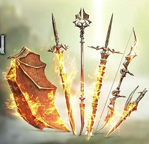 Dragon Age: Inquisition Flames of the Inquisition weapons pack DLC PlayStation4 PS4