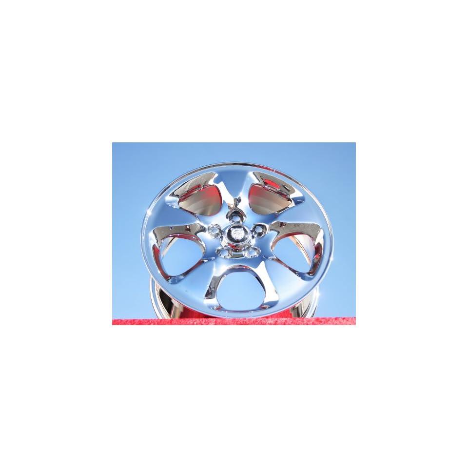 Jaguar S TypeDynamic Set of 4 genuine factory 16inch chrome wheels