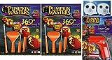 Pumpkin Masters Pumpkin 360 Degree Carving Kit Set of 2, Power Saw Carving Tool & Ghost Tea Lights Bundle