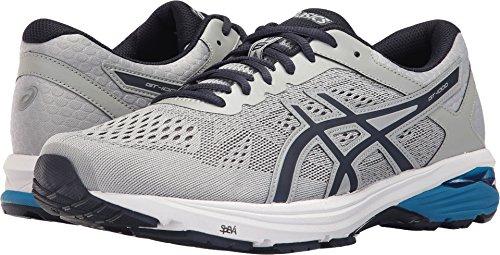ASICS Men's GT-1000 6 Running Shoe, Mid Grey/Peacoat/Directoire Blue, 7.5 Medium US