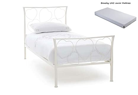 Comfort Me Interiors Serene Chloe 3 ft Single – 90 cm Metal Cama Plus Breasley uno