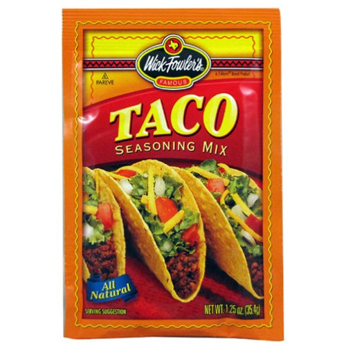 Wick Fowlers Taco Seasoning Mix 24 count