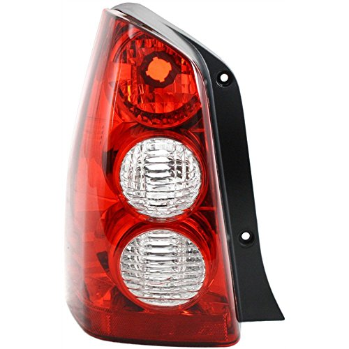 Tail Light for Mazda Tribute 05-06 Lens and Housing Left Side