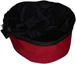 product image for BAGS USA Collapsible Pet Travel Water Food Bowl, Guaranteed Water Proof.