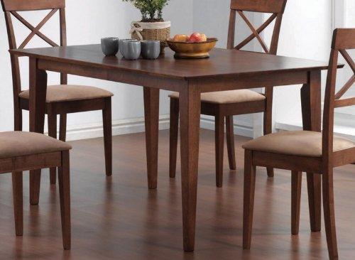 Coaster Home Furnishings 101771 Casual Dining Table, Walnut
