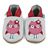 Soft Leather Toddler Girl Shoes - Infant Girl Shoes