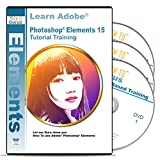 Photoshop Elements 15 Software Training on Disc 3 DVDs 16 Hours 239 Video Tutorial Lessons