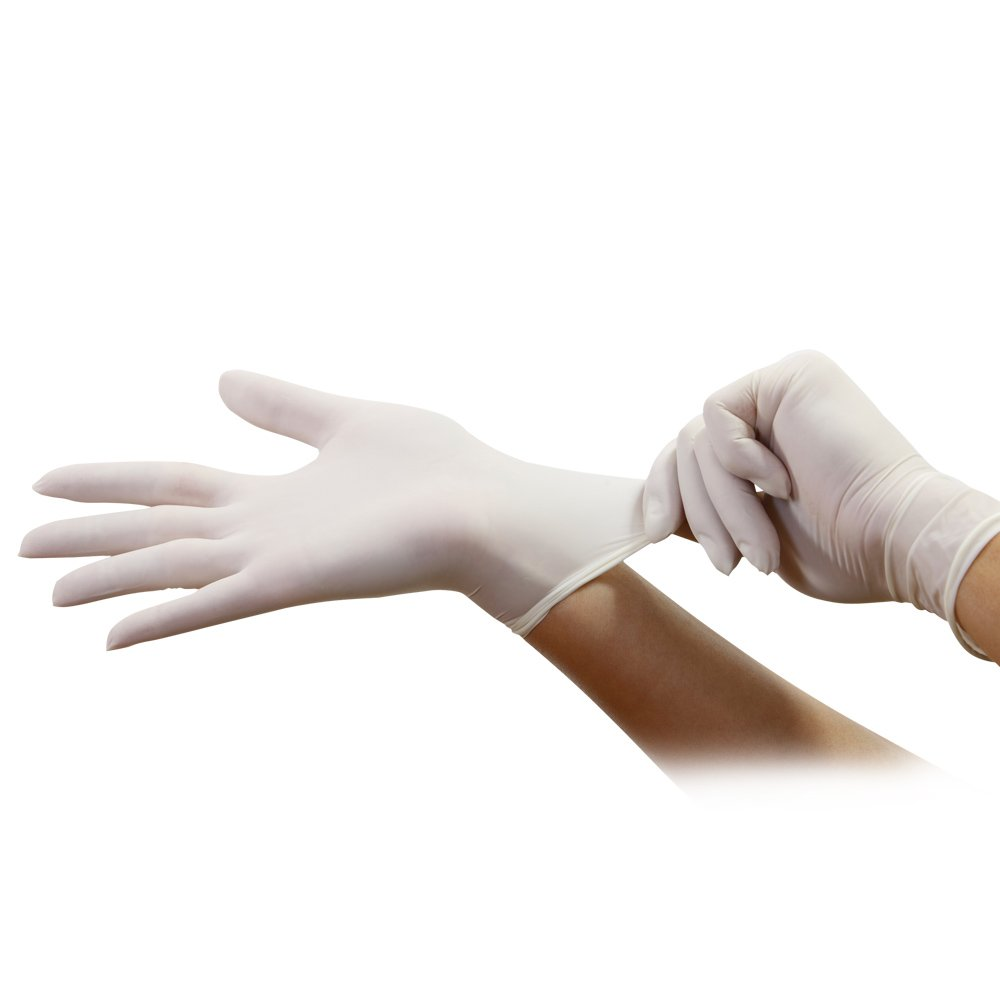Pack of 100 Small White Nicole Home Collection 05024 Vinyl Gloves